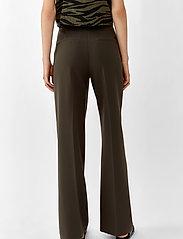 Twist & Tango - Victoria Trousers - bukser med brede ben - dark khaki - 4