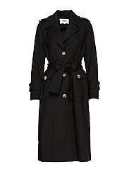 Eve Trenchcoat - BLACK