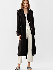 Twist & Tango - Eve Trenchcoat - trenchcoats - black - 0