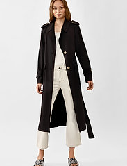 Twist & Tango - Eve Trenchcoat - trenchcoats - black - 4