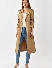 Twist & Tango - Eve Trenchcoat - trenchs - dark beige - 0