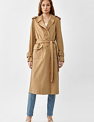 Twist & Tango - Eve Trenchcoat - trenchs - dark beige - 3