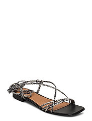 Pisa Sandals - GREY SNAKE