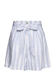Brooke Shorts - BLUE/WHITE