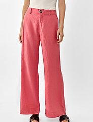 Twist & Tango - Maria Trousers - bukser med brede ben - pink - 3