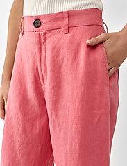 Twist & Tango - Maria Trousers - bukser med brede ben - pink - 4