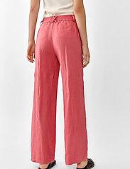 Twist & Tango - Maria Trousers - bukser med brede ben - pink - 5