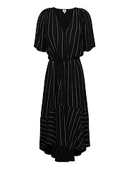 Alexa Dress - BLACK LOGO