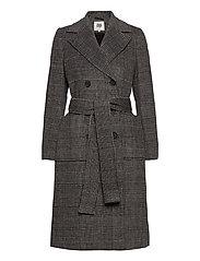 Loretta Coat - GRAPHIC CHECK