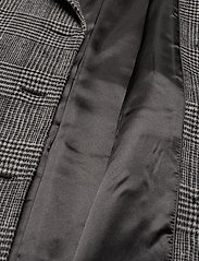 Twist & Tango - Loretta Coat - wełniane płaszcze - graphic check - 4
