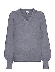 Valeria Sweater - SLATE BLUE