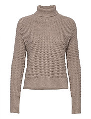 Jaida Turtleneck - OAK MELANGE