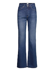 Lo Flare Jeans - DK BLUE WASH