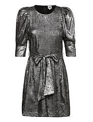 Edie Dress Silver - METALLIC