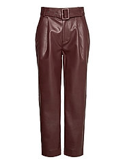 Aria Trousers - REDDISH BROWN