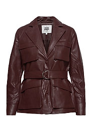 Cecilia Jacket - REDDISH BROWN