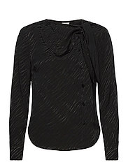Madison Blouse - BLACK