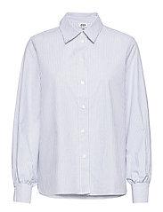 Sophie Stripe Shirt - ICE BLUE STRIPE