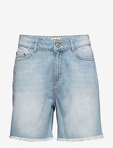 Mika Shorts - jeansowe szorty - light blue denim
