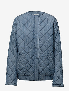Anouk Jacket - quilted jackets - mid blue