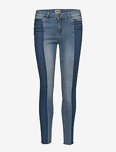 Julia Ankle Trousers - slim jeans - mid blue
