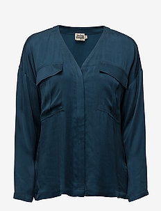 Savannah Blouse - PETROL