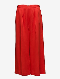 Ebba Trousers - RASPBERRY RED