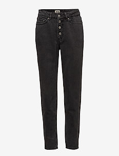 Tea Button Jeans - GREY WASH