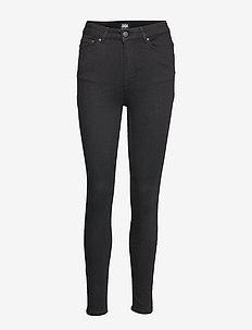 Julie High Waist Jeans - BLACK