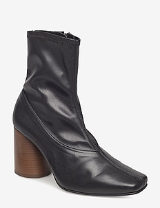 New York Boots - enkellaarsjes met hak - black