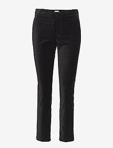 Bibbi Trousers - rette bukser - dark green
