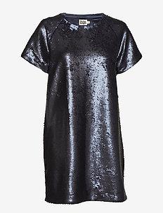 Kim Sequin Dress - NAVY