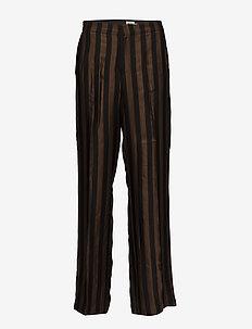 Erika Trousers - vide bukser - brown