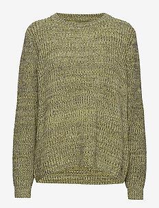 Leona Sweater Multi Yellow - MULTI YELLOW