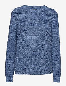 Leona Sweater Multi Blue - MULTI BLUE