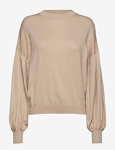 Beatrice Sweater Warm Sand - WARM SAND