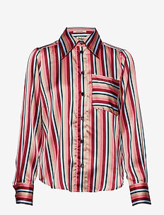 Nathalie Shirt Pink Stripe - PINK STRIPE