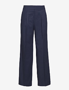 Bettina Trousers Blackish Blue - BLUE