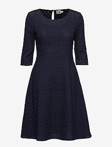Ariadne Dress Blackish Blue - BLACKISH BLUE