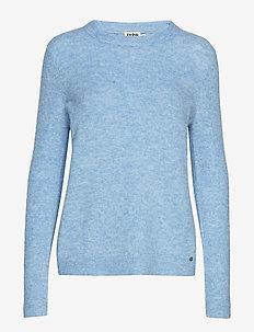 Estelle Sweater Cold Blue - COLD BLUE