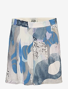 Polly Shorts - casual shorts - blue marble