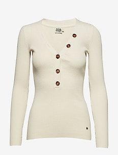 Miriam Button Sweater - ECRU