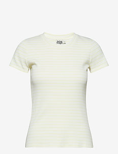Ivy Top - YELLOW STRIPE