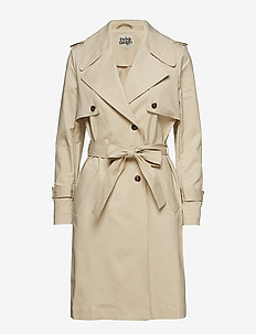 Albina Trenchcoat - LIGHT BEIGE