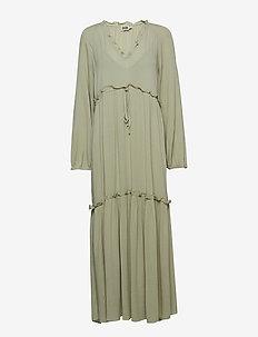 Annelise Dress - DUSTY MINT
