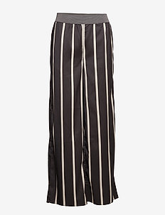 Tatiana Trousers Burgundy - STONE STRIPE