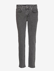 Julie Jeans - straight jeans - washed grey