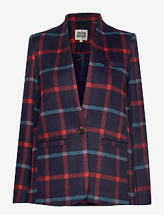 Ragna Jacket - blazere - navy check
