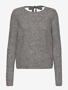 Hedvig Sweater - trøjer - grey mélange