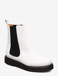 Seoul High Boots - bottes chelsea - white